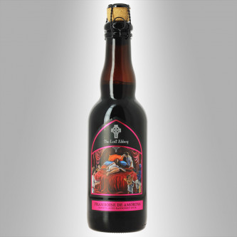 BIÈRE DOUBLE D'ABBAYE / SOUR BARREL AGED. 2016 'FRAMBOISE DE AMOROSA' - PORT BREWING COMPANY / THE LOST ABBEY