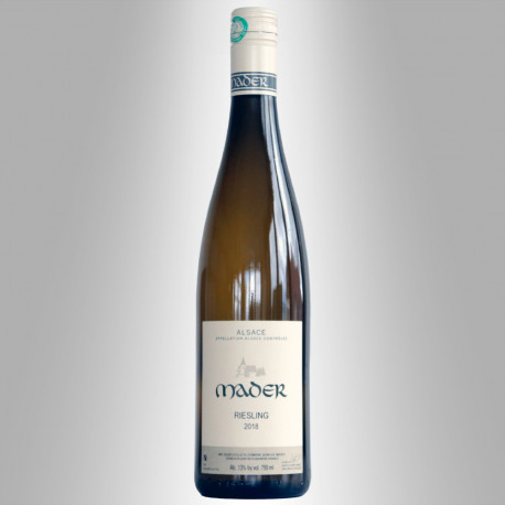 ALSACE RIESLING 2018 -DOMAINE MADER