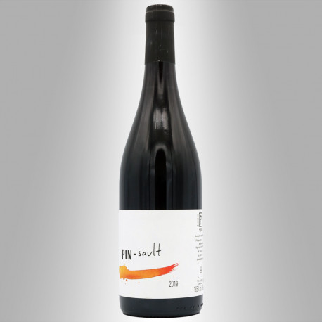 VIN DE FRANCE ROUGE 2019 'PIN-SAULT' - DOMAINE PÉGALINE