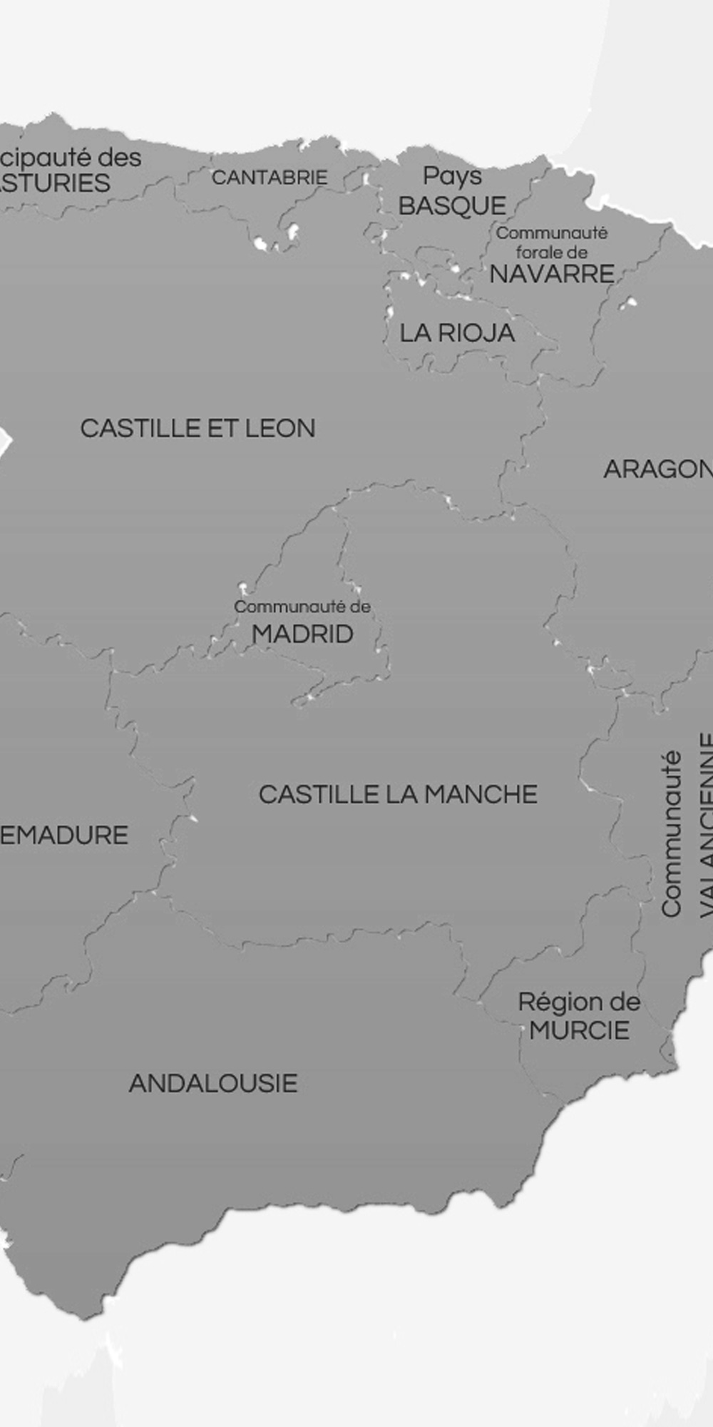 carte region viticole